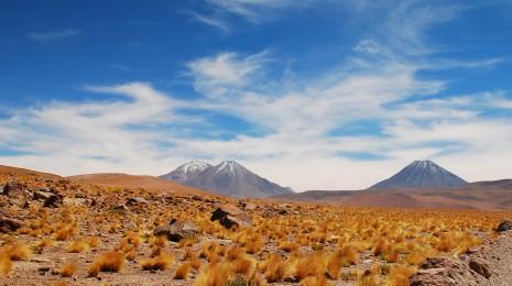 Volcans de l'Atacama, Chili.