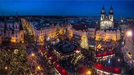 Marché de Noël/Prague